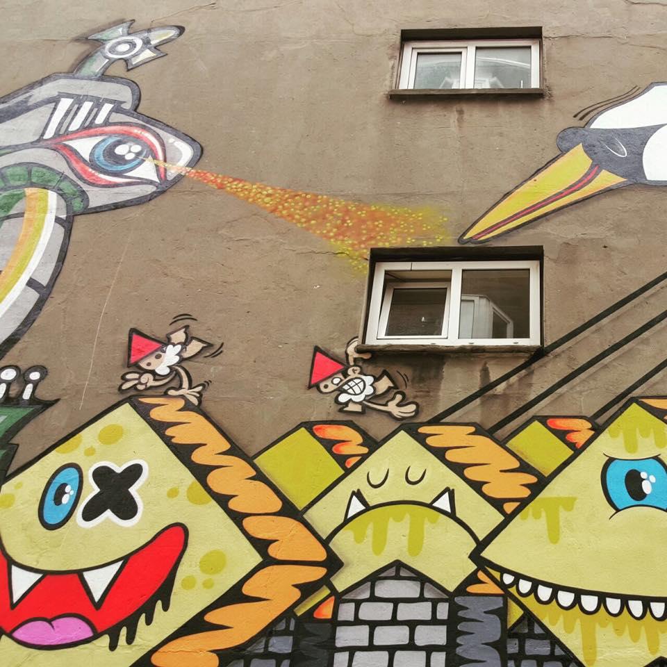 Kunstenaar: Lastplak & friends